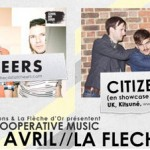 Live-report de la soirée Coopérative Music avec Citizens! et The Cast of Cheers
