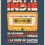 Le Tremplin Play It Indie a ses finalistes